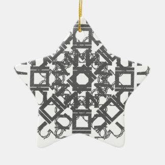 Grey 101STAR Christmas Ornaments