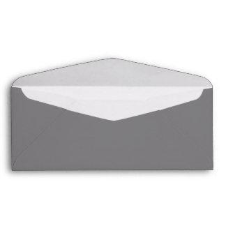 Grey #9 envelope