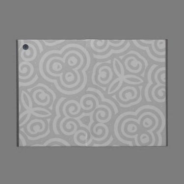 Grey Abstract Pattern iPad Mini Cases