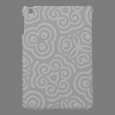 Grey Abstract Pattern iPad Mini Covers