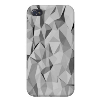 grey abstract pattern iPhone 4/4S cases