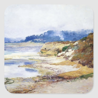 Grey Afternoon by Guy Rose Square Sticker