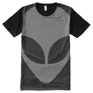 Grey Alien All-Over-Print T-Shirt