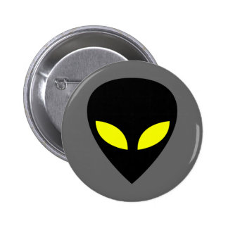 Grey Alien Pinback Buttons