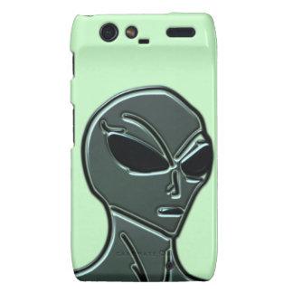 Grey alien motorola droid RAZR cases