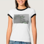 Grey Alien - Fractal T-shirt