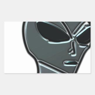 Grey alien stickers