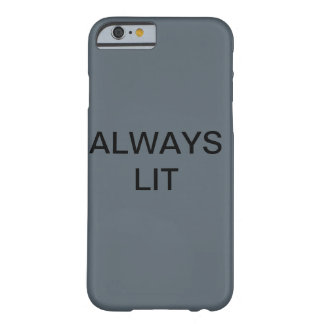 Grey always lit iPhone 6/6s phone case
