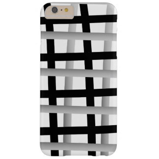 Grey and Black Wrap Around Barely There iPhone 6 Plus Case