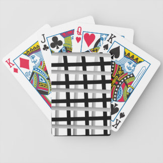 Grey and Black Wrap Around Bicycle Playing Cards