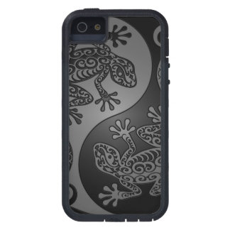 Grey and Black Yin Yang Lizards Case For iPhone SE/5/5s