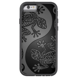 Grey and Black Yin Yang Lizards Tough Xtreme iPhone 6 Case