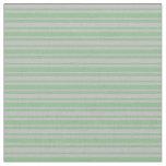 [ Thumbnail: Grey and Dark Sea Green Colored Lines Fabric ]