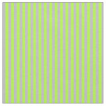 [ Thumbnail: Grey and Light Green Lined Pattern Fabric ]