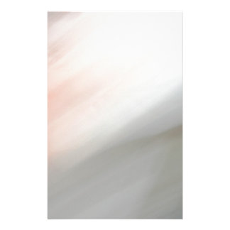 Grey and pink motion blur pattern custom stationery
