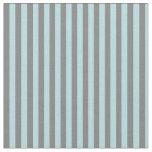 [ Thumbnail: Grey and Powder Blue Lines Fabric ]