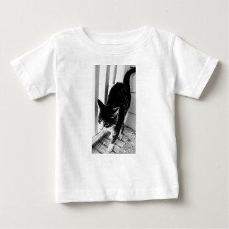 grey and white cat baby T-Shirt