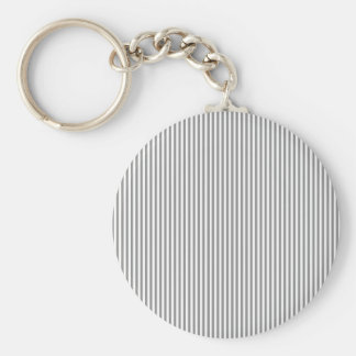 Grey and White Stripes Key Chains