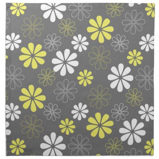 Yellow Gray Pattern | ...