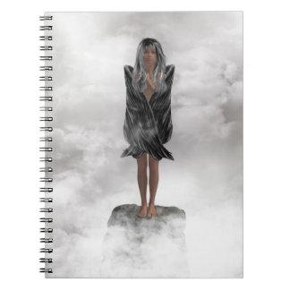 Grey Angel Notebook