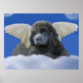 Grey Angel Print