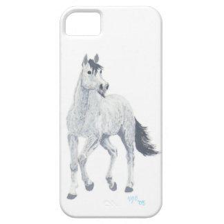 Grey Arabian Horse iPhone case