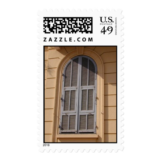 Grey Arch Shutters Postage