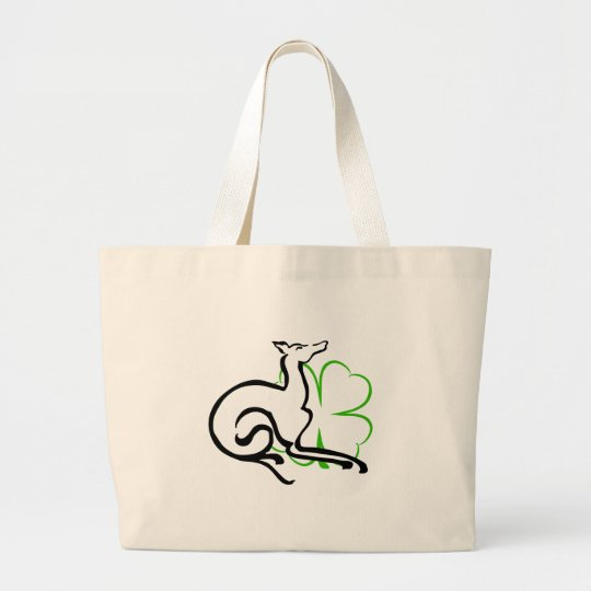 Grey Area Clover Large Tote Bag