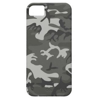 Grey army camouflage iPhone 5 cover