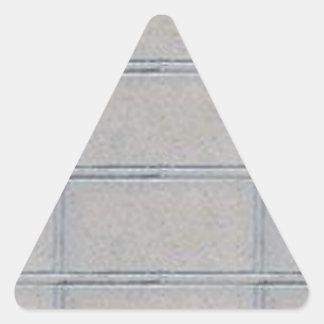 Grey Artistic Decorative BRICK Wall Triangle Sticker