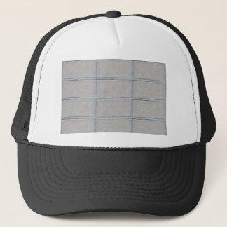 Grey Artistic Decorative BRICK Wall Trucker Hat