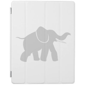 Grey Baby Elephant iPad Cover