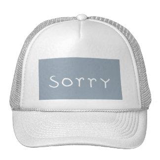 grey back, sorry white trucker hat