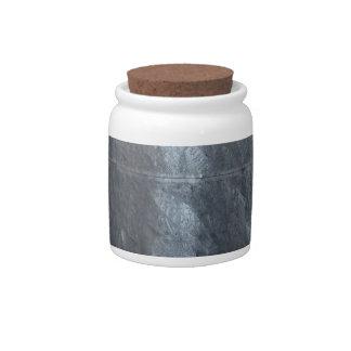 Grey background metal texture strings template DIY Candy Jar