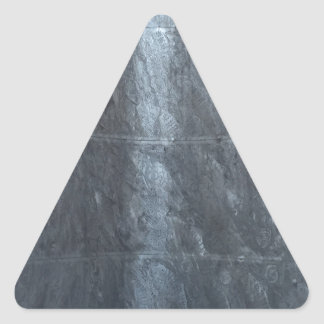Grey background metal texture strings template DIY Triangle Sticker