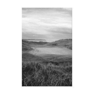 grey Ballybunion links golf course Canvas Print