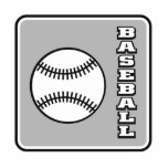 Grey Baseball logo.png Photo Sculptures