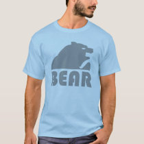Grey Bear Gay Bear T-Shirt