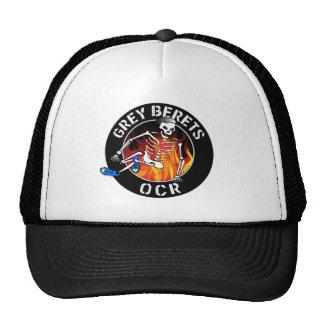 Grey Beret Truckers Hat