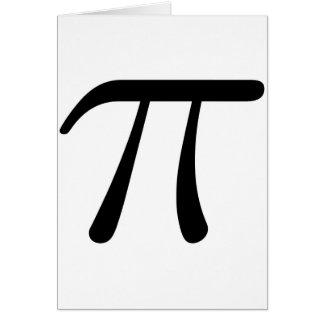 Grey Black Gray Yellow Orange Pi 3.14 symbol Math Cards