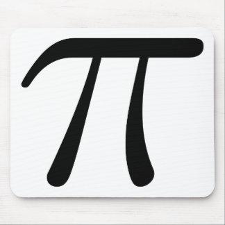 Grey Black Gray Yellow Orange Pi 3.14 symbol Math Mouse Pad