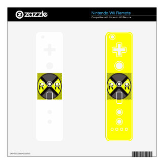 Grey & Black Railroad Crossing Skins For The Wii Remote
