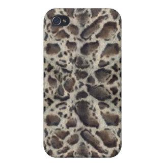 Grey Black Snake Pern iPone 4  iPhone 4/4S Case