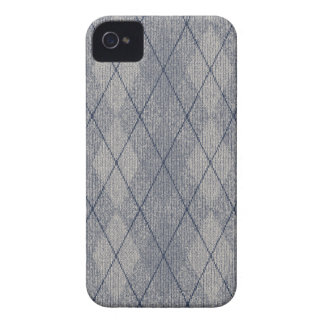 Grey / Blue Arglye Barely There iPhone 4/4S Case iPhone 4 Covers