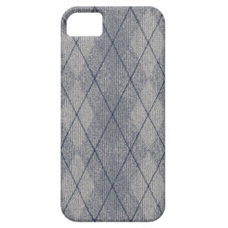 Grey / Blue Arglye Barely There iPhone 5 Case