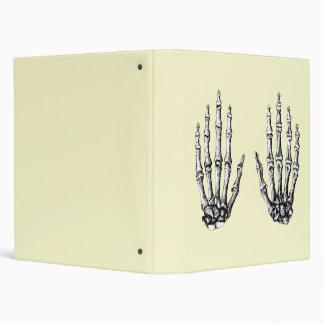 Grey Bones of the Hand 3 Ring Binder