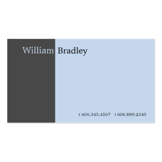 Grey Box Double-Sided Standard Business Cards (Pack Of 100)