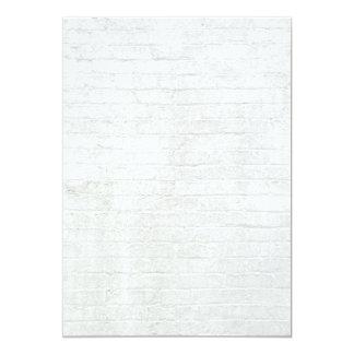 Grey Brick Wall White Bricks Background Texture Card