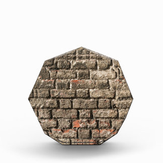 Grey Bricks Acrylic Award