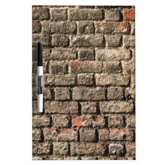 Grey Bricks Dry Erase Board